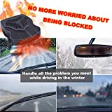 Car Heater - 2019 Portable Car Defogger, Windshield Defroster, Thermostat 30s Fast Heating and Cooling, 12 V 2 in 1 Windshield Defrost