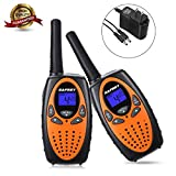 Safrey Walkie Talkies Charger, Support Rechargeable Battery, 22 Channel Two Way Radios, Walkie
