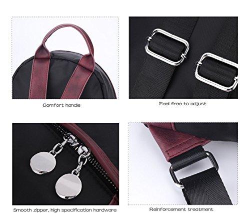 Of Nylon 2 Bag Hand blue Backpacks Backpack Travel Backpack Casual Shoulder Woman Type Woman Hopeeye Waterproof Bag Bag xB6acwf