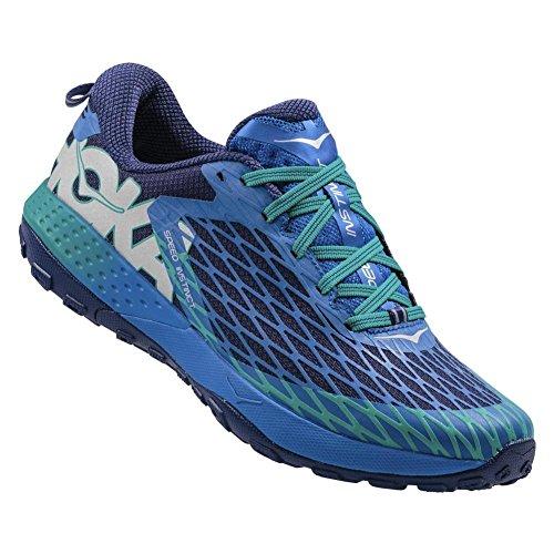 Hoka One One - Speed Instinct Homme - blue/tropical green - 42 2/3