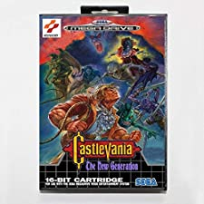 Sega MD games card - Castlevania The New Generation 2 with box for Sega MegaDrive Video Game Console 16 bit MD card - MD card Game Card For Sega Mega Drive For Genesis