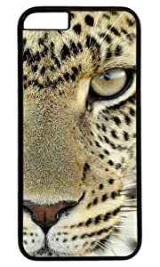 The Angry Tiger DIY Hard Shell Black Best Designed iPhone 6 plus 5.5 Case