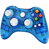 Cheap Xbox 360 Wireless Controller Zoewal FA03 Wireless Game Pad Controller for Windows & Xbox 360 Console-Blue (Third-party manufacturing)