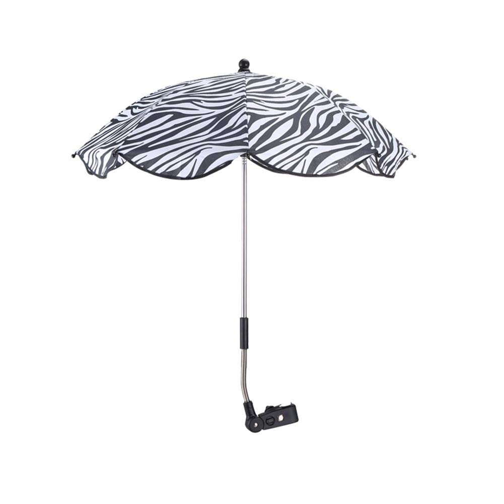Stroller Baby Sun Umbrella,Folding Parasol Umbrella for Pram Pushchair and Buggy Protects Babies and Infants from UV Resistant