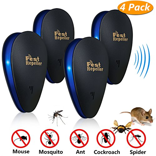 Ultrasonic Pest Repeller,Buluri 2018 New Pest Control Ultrasonic Insect...