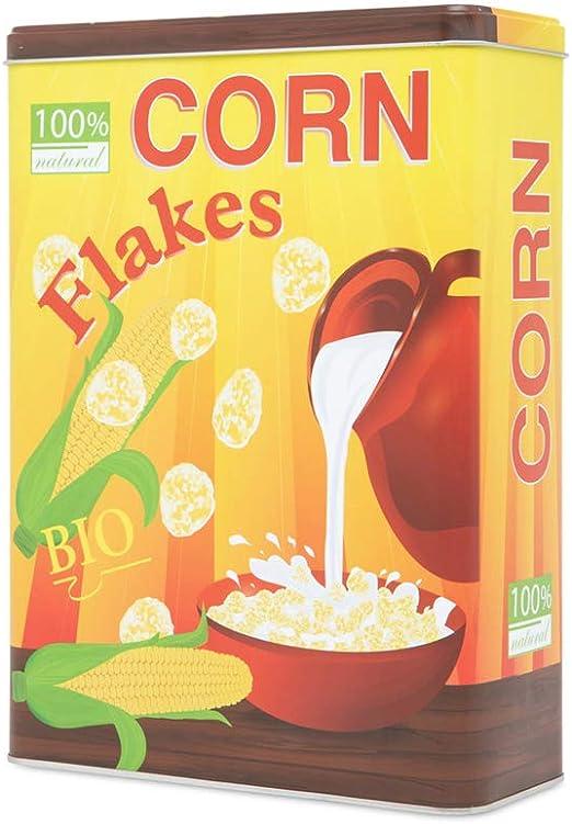 D-Mail - Caja de hojalata para Cereales: Amazon.es: Hogar