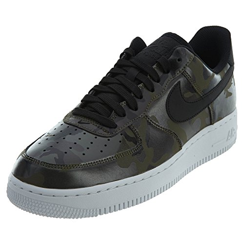 new concept 72eef 88f6c Galleon - NIKE Mens Air Force 1  07 Low Camo Shoes Medium Olive Baroque  Brown Sequoia Black 823511-201 Size 10.5