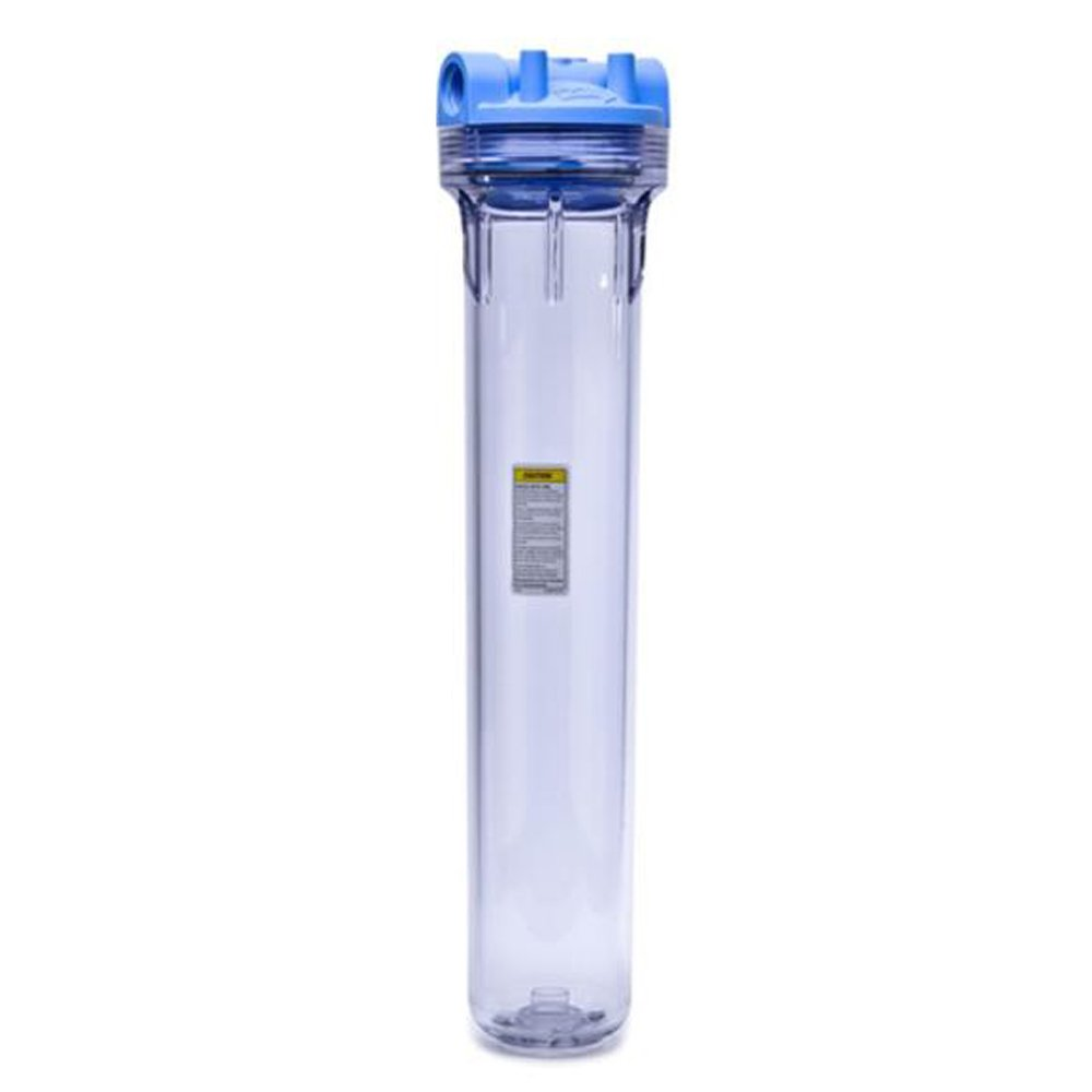 Clear//Blue Commercial Water Distributing Pentek PENTEK-150564 Whole House Water Filter System