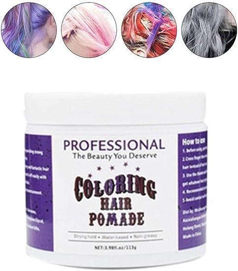 Cera para el pelo gris – Cera para el pelo, color gris para ...