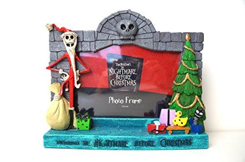 The Nightmare Before Christmas Santa Jack Skellington Photo Picture Frame (Santa Frame)