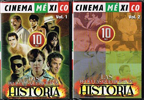 - CINEMA MEXICO PACK VOL.1 [PERRO CALLEJERO 1 Y 2,EL CAFRE,MECANICA NACIONAL,CO...