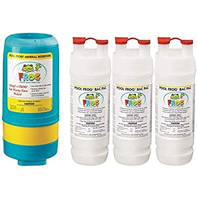 King Technologies Pool Frog Mineral Purifier Replacement Above Ground Value Pack : Garden & Outdoor