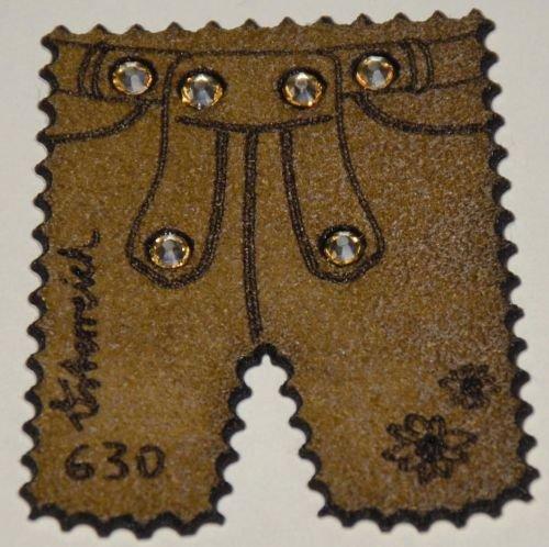 """Goldhahn Österreich Nr. 3231 postfrisch """"Lederhosen""""-Marke Briefmarken für Sammler"""