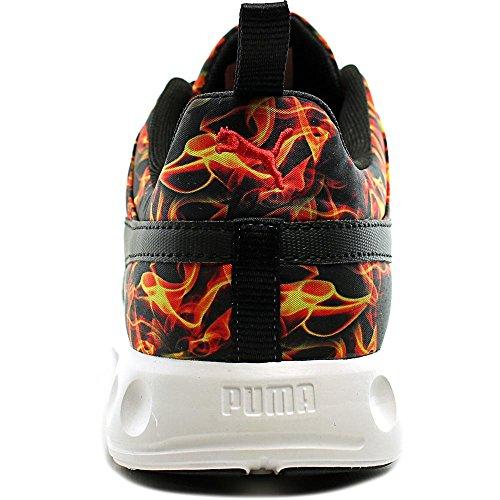 Puma Carson Runner Jr. Fire Fibra sintética Zapato para Correr