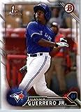 2016 Bowman Prospects #BP55 Vladimir Guerrero Jr. Toronto Blue Jays Baseball Card