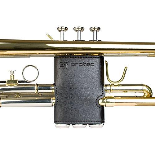 Valve Guard - Protec Trumpet Leather Valve Guard, Model L226