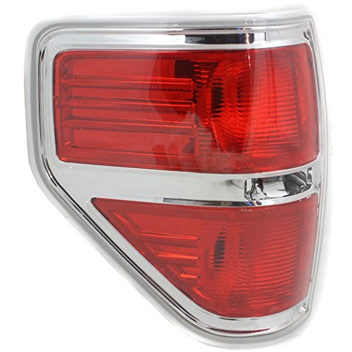 Tail Light for Ford F-150 09-14 Lens and Housing Styleside Left Side