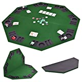 Description Enjoy Leisure Time With Your Families Or Friends With Our Brand New Poker Table. This Poker Table Is Perfect To Fit Any Table. Features Built In Cup Holders And Chip Racks For Each Of The 8 Players That It Seats. With Its Folding ...