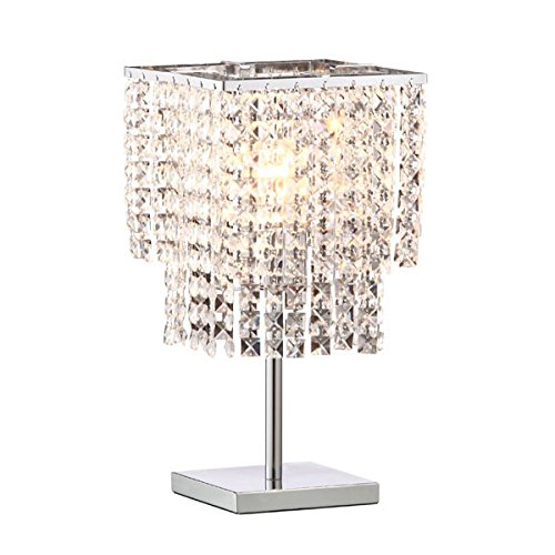 Zuo 50010 Falling Stars Table Lamp, Chrome