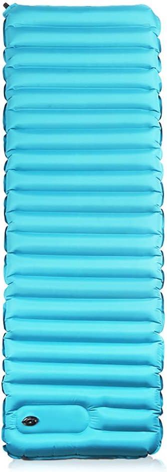 Sleeping Mat Ultralight colchón de camping inflable cama neumática inflable con bomba eléctrica incorporada cama individual de inflating portátil y plegable para senderismo hamaca tienda y mochilero
