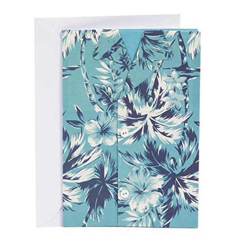 Hallmark Signature Birthday Greeting Card for Him (Tropical Shirt)