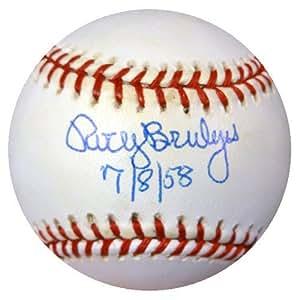 Rocky Bridges Signed National League Baseball Dodgers