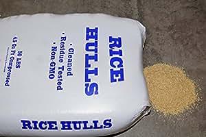 Amazon.com : Nature's Seed Rice Hulls (10 lb) : Garden