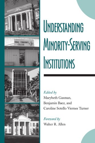 Books : Understanding Minority-Serving Institutions