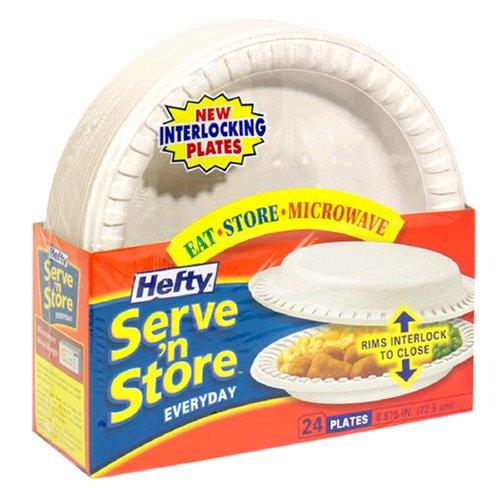 Hefty Serve 'N Store 8 7/8