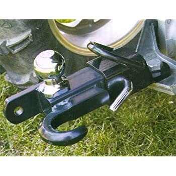 Amazon Com 3 Way Atv 2 Quot Hitch Ball Tow Hook Trailer