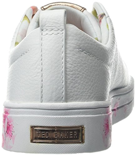 Ted Baker Kelleip Baskets Femme Fleur Blanche