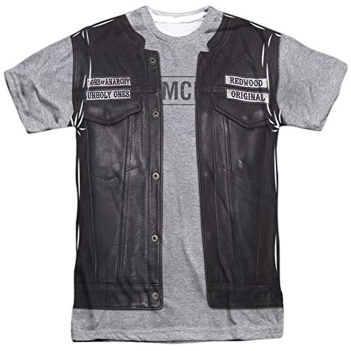 Sons Of Anarchy TV Show Unholy Ones Jacket Costume Adult Front Print T-Shirt -