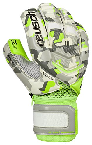 Reusch Soccer Reusch Re Load Pro G2 Ortho Tec Goalkeeper Gloves, Camo, Size 10 (Ortho Tec Glove)