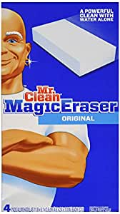 Procter & Gamble Mr. Clean Magic Eraser Foam Pad,4 count