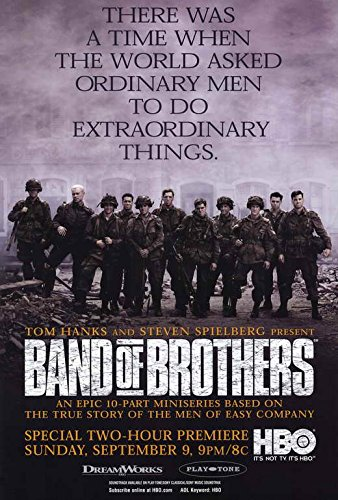 Band of Brothers Movie POSTER 27 x 40 Eion Bailey, D, MADE IN THE U.S.A.