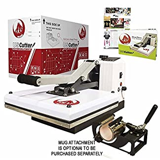 Volcano heat press from US Cutter