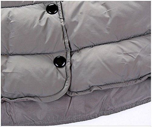 Infant Gray Stand Chic Coat Outwear Button Collar Lemonkids Down Boys Down Jacket d4wqPdng