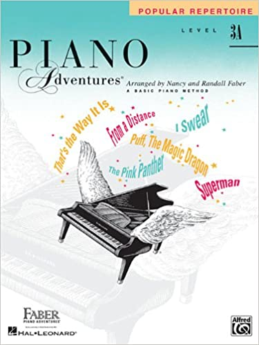 level 3a popular repertoire book piano adventures