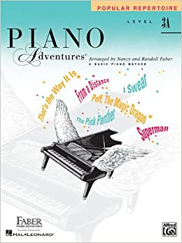 Faber Piano Adventures: Level 3A - Popular Repertoire Book