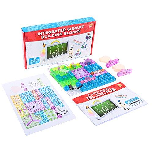 Mallya Integrated Circuit building blocks Kit (34pcs), 115 Different ...