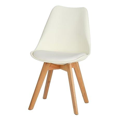 Amazon.com: Charles Jacob estilo Side silla con patas de ...