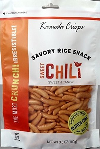 Kameda Crisps, Sweet Chili, 3.5 Ounce (Pack of 12)