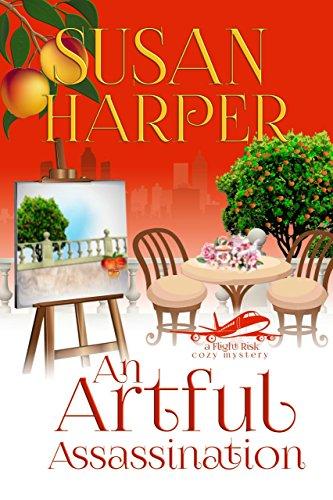 An Artful Assassination (Flight Risk Cozy Mystery Book 6) by [Harper, Susan]