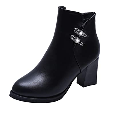 Femme Fouree Bottines Boot Cuir Beautyjourney Kickers Bottes ZPOkiTXu