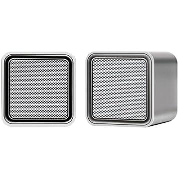iLuv Sound Cubes ISP160SIL - Altavoces portátiles para Macbook: Amazon.es: Electrónica