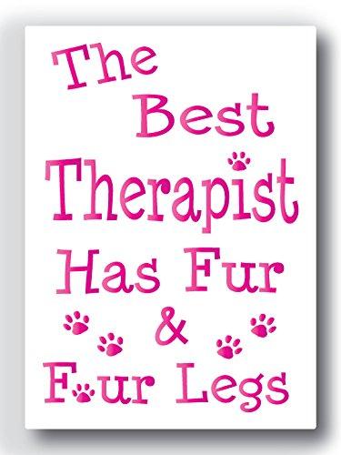 Nourish The Best Therapist Fridge Magnet