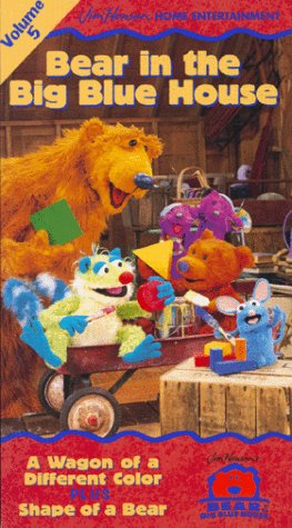 Bear in the Big Blue House, Vol. 5 - A Wagon of a Different Color / Shape of a Bear -