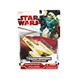 Star Wars Clone Wars 2009 Transformers Crossovers YWing to Anakin Skywalker