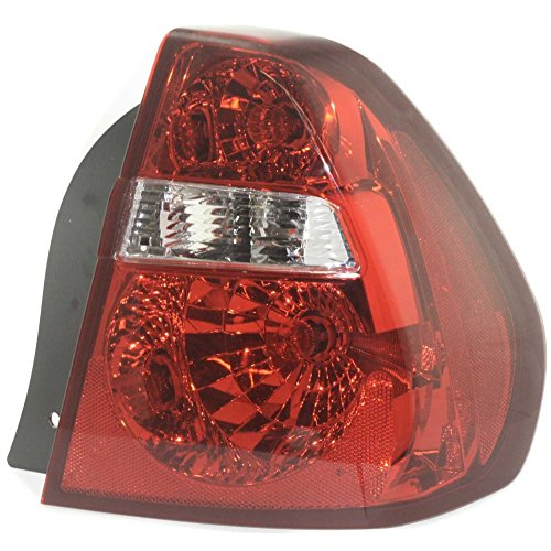 Tail Light for Chevrolet Malibu 04-08 Assembly Fwd Right Side ()