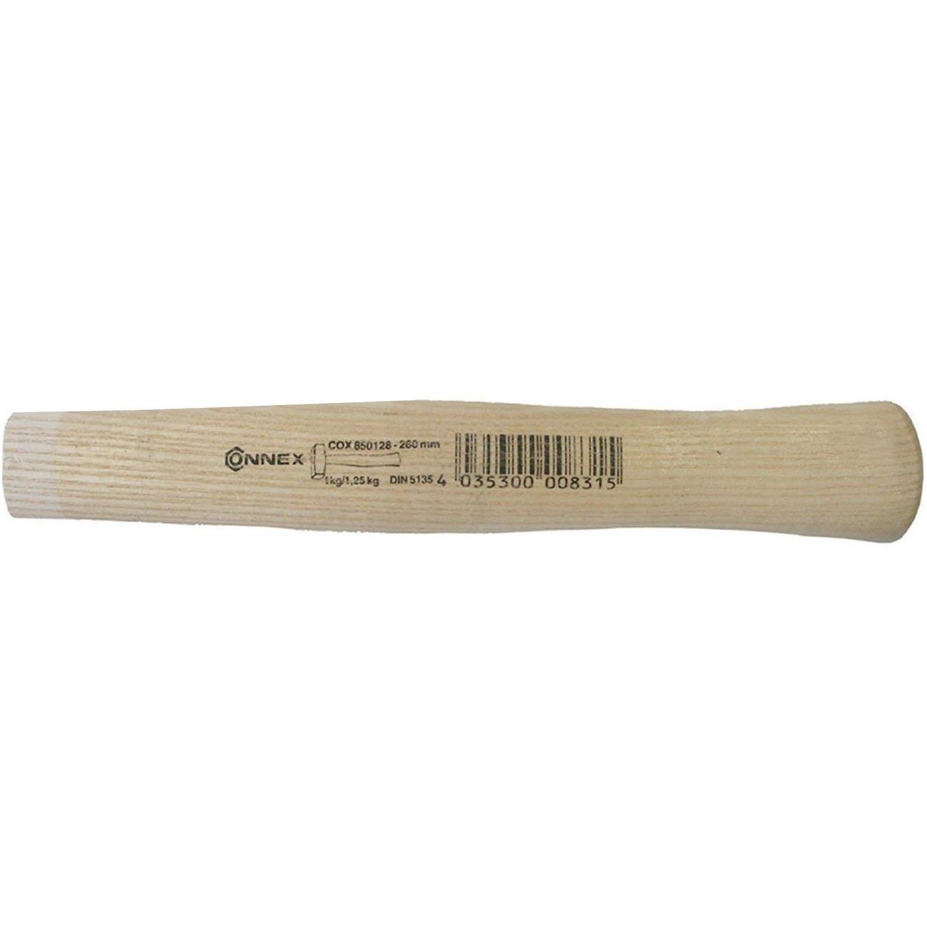 Connex COX850128 Manche de massette pour 1000/1250g en Bois de frê ne, Beige, 260 mm